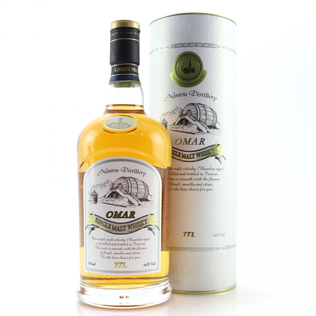 Nantou Omar Bourbon Cask Single Malt