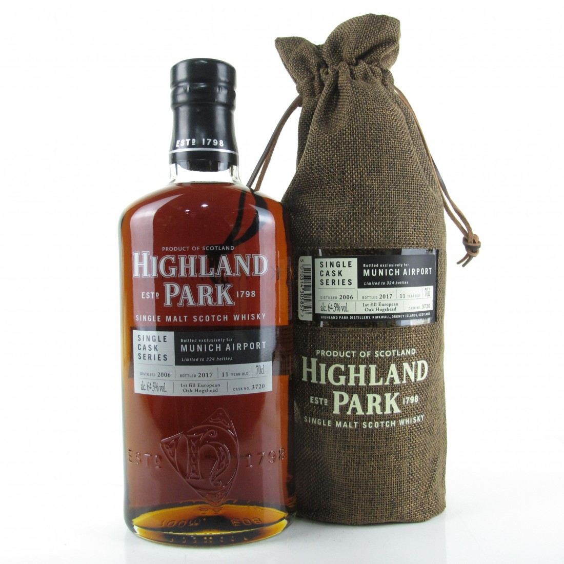 Highland Park 2006 Single Cask 11 Year Old / Munich Airport