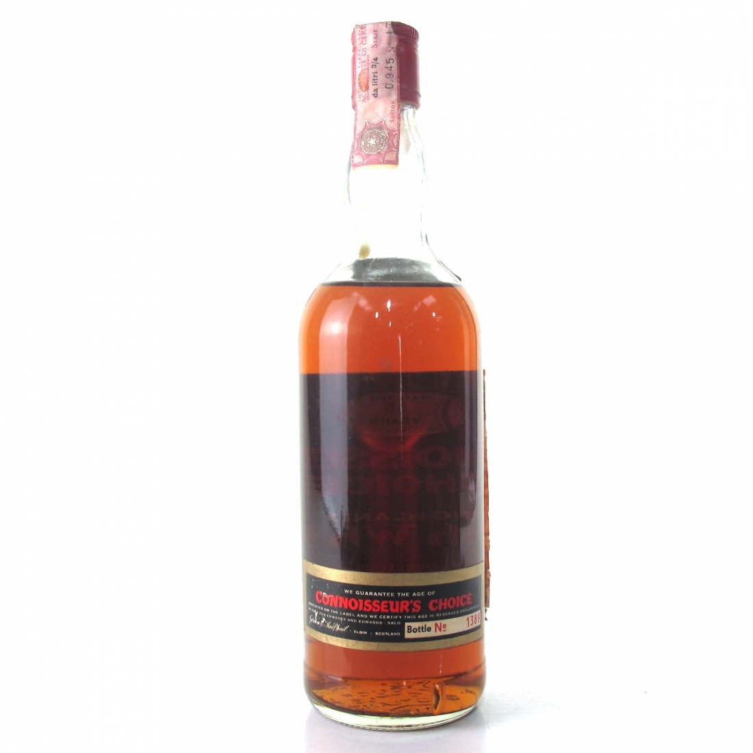 Strathisla 1937 Gordon and MacPhail 35 Year Old / Pinerolo Import