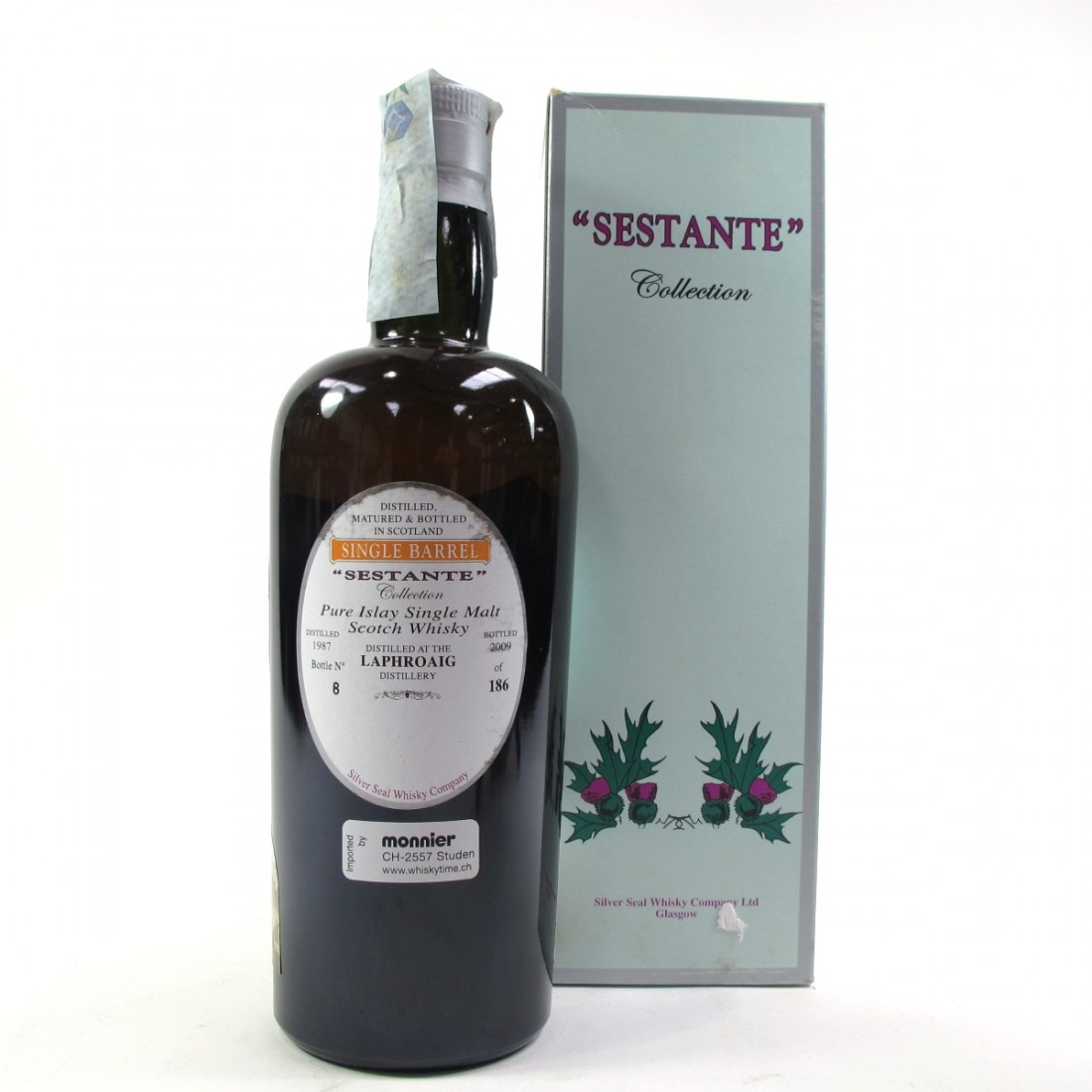 Laphroaig 1987 Silver Seal 22 Year Old Sestante