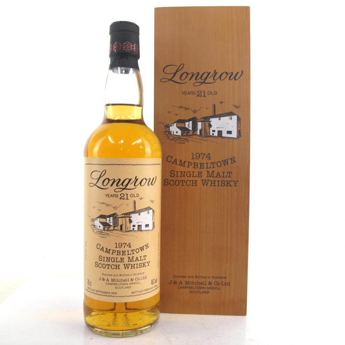 Longrow 1974 21 Year Old