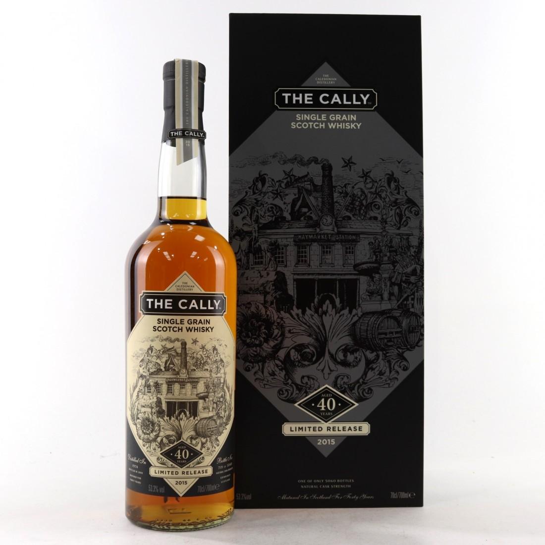 Caledonian 1974 Single Grain 40 Year Old / The Cally