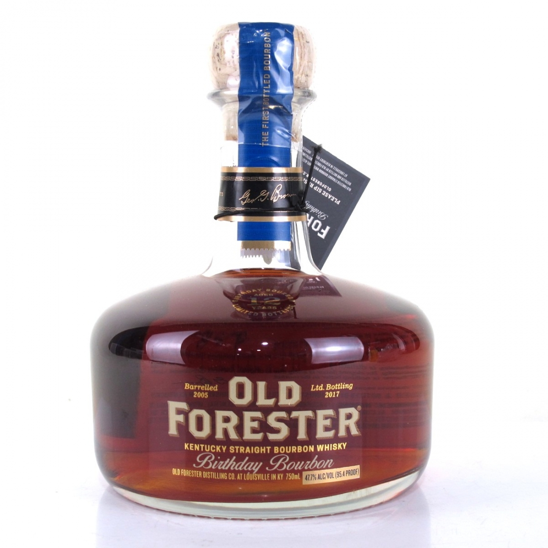Old Forester 2005 Birthday Bourbon 12 Year Old