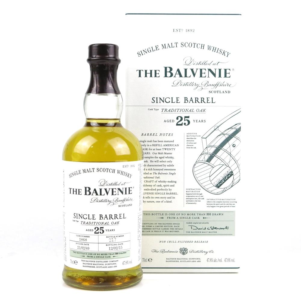 Balvenie 1989 Single Barrel 25 Year Old