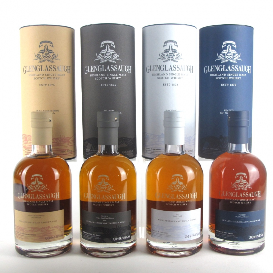 Glenglassaugh Wood Finish 4 x 70cl