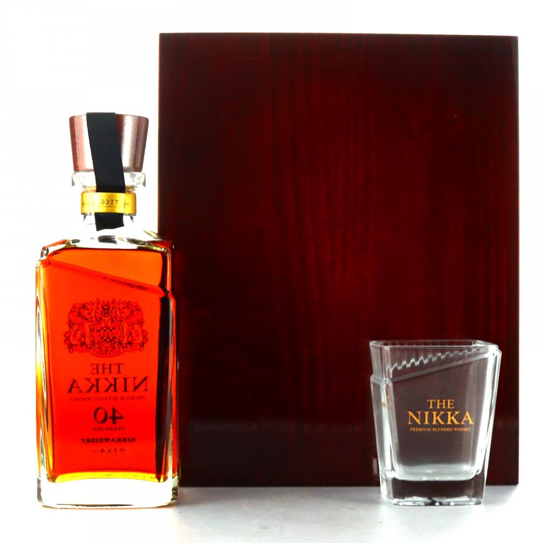 Nikka 40 Year Old / 80th Anniversary