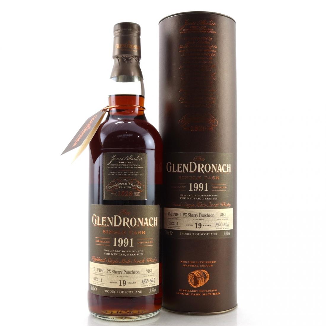 Glendronach 1991 Single Cask 19 Year Old #3181
