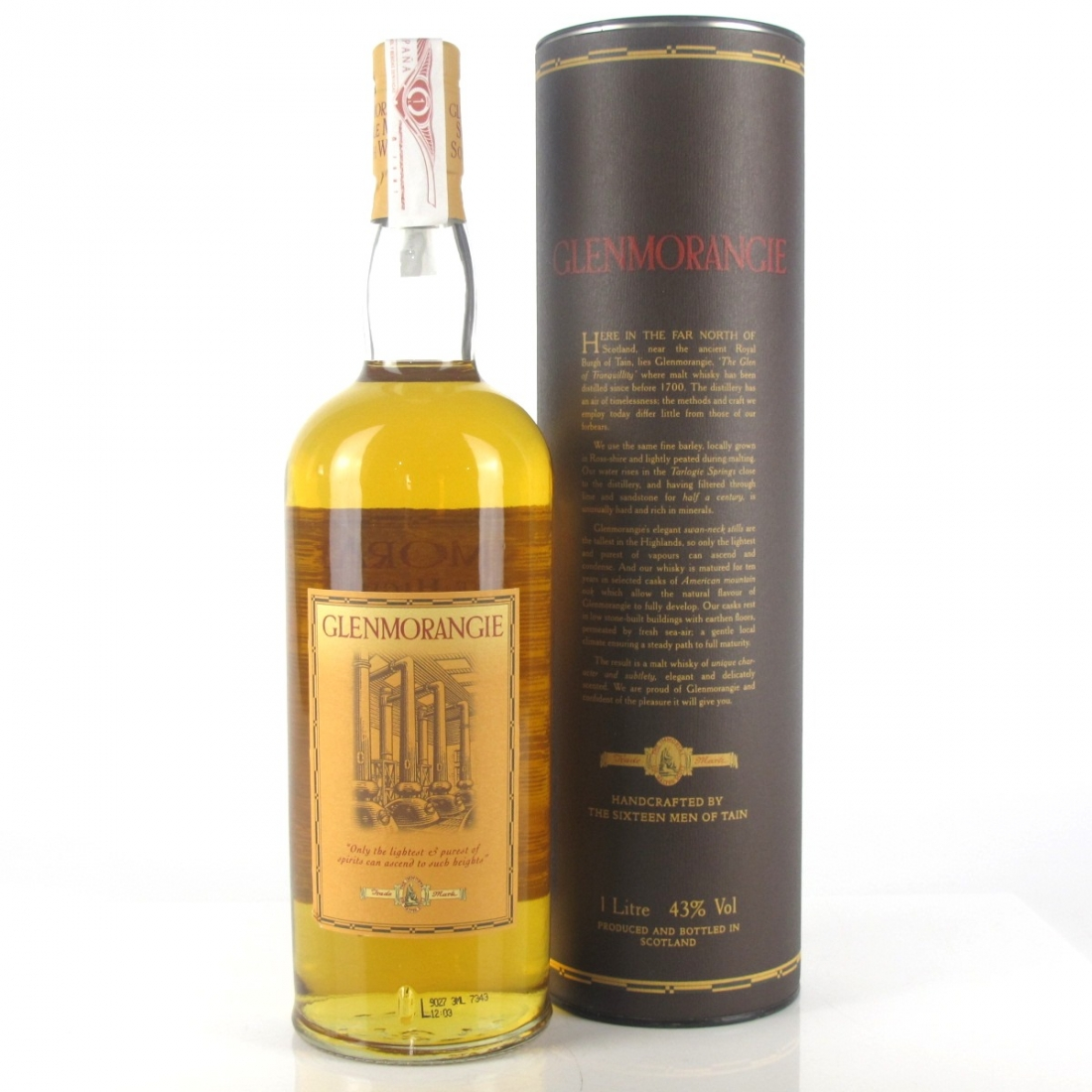 Glenmorangie 10 Year Old 1 Litre