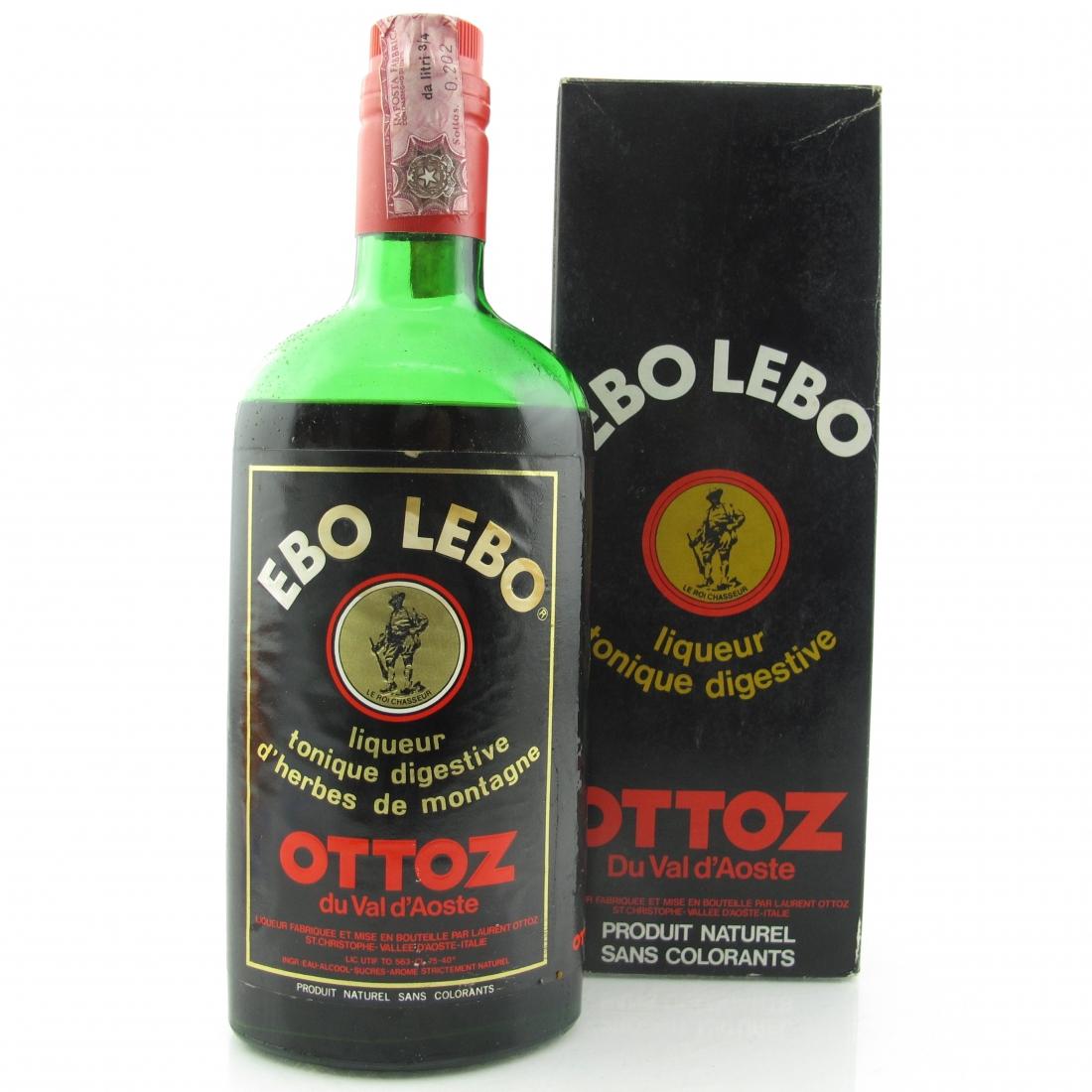 Ebo Lebo Ottoz du val d'Aoste 1970s
