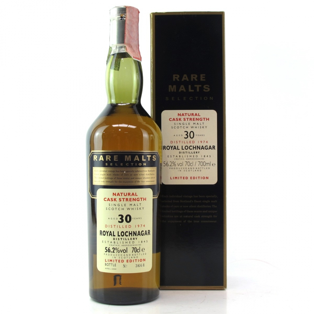 Royal Lochnagar 1974 Rare Malt 30 Year Old / 56.2%