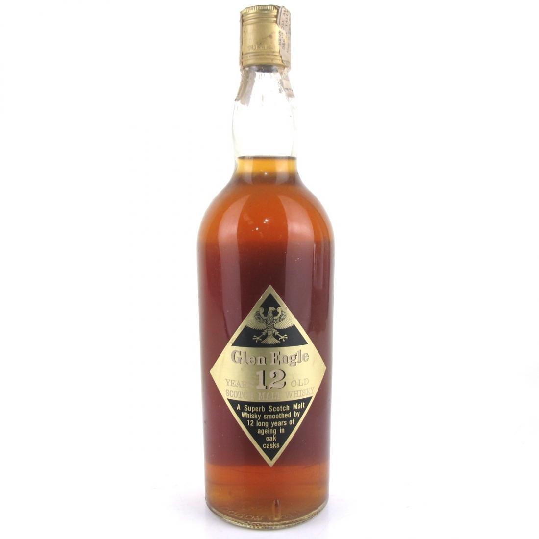 Glen Eagle 12 Year Old Scotch Whisky 1970s