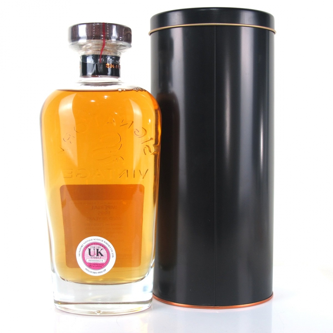 Imperial 1995 Signatory Vintage 20 Year Old Cask Strength