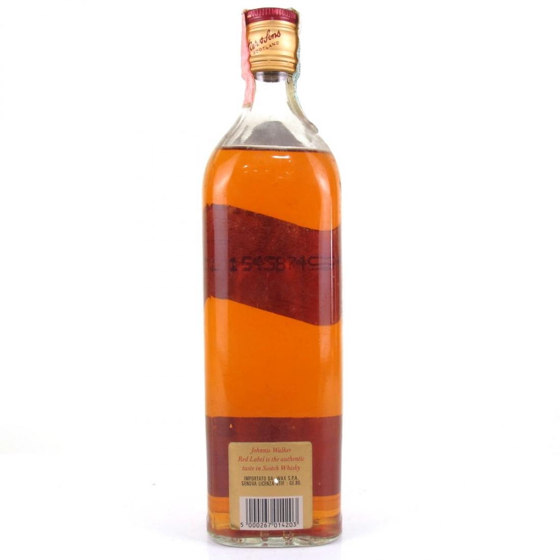 Johnnie Walker Red Label / Wax Import
