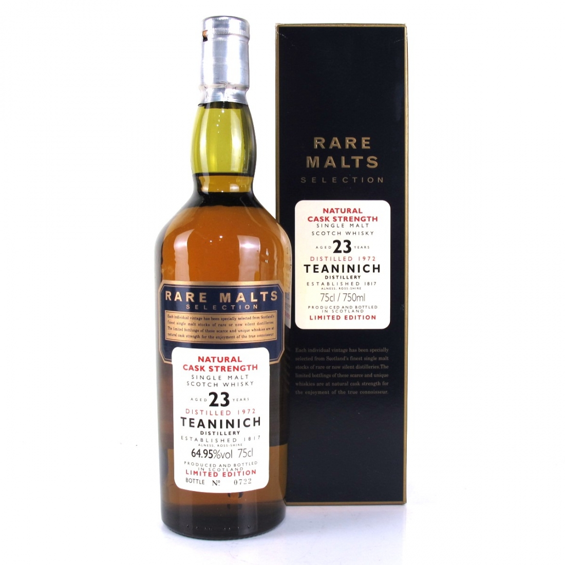Teaninich 1972 Rare Malt 23 Year Old 75cl / 64.95%