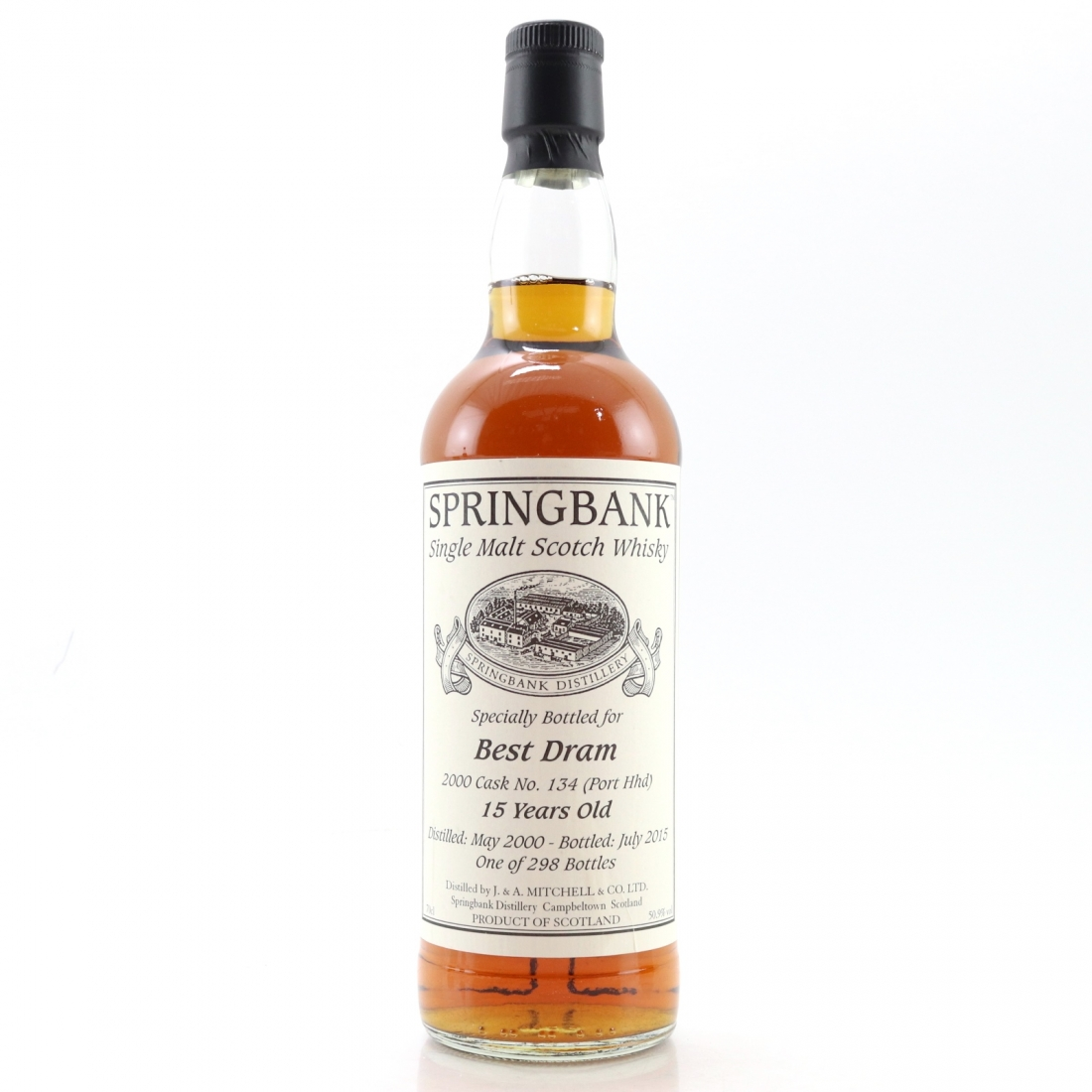 Springbank 2000 Single Cask 15 Year Old / Best Dram