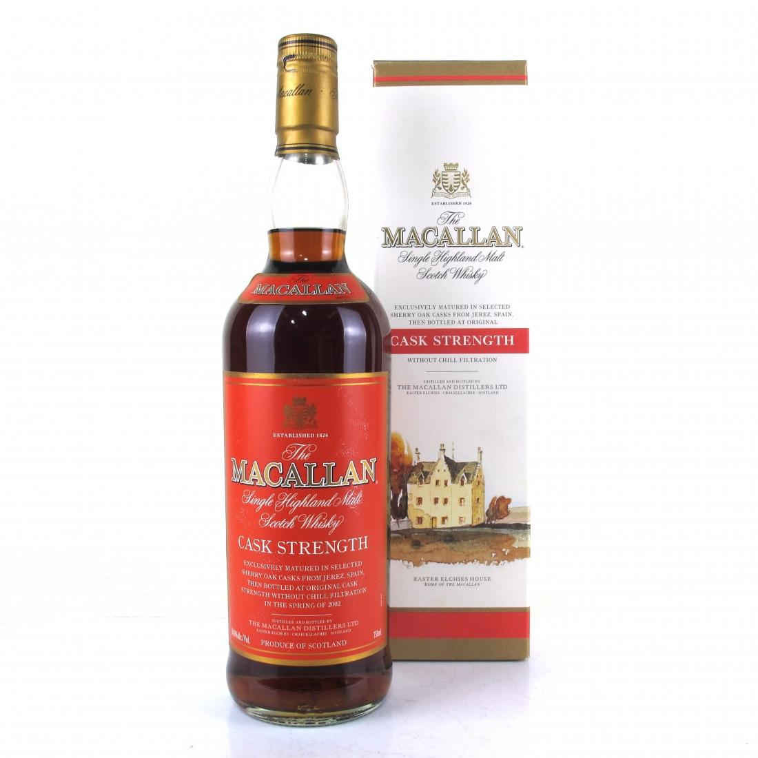 Macallan Cask Strength 75cl / US Import