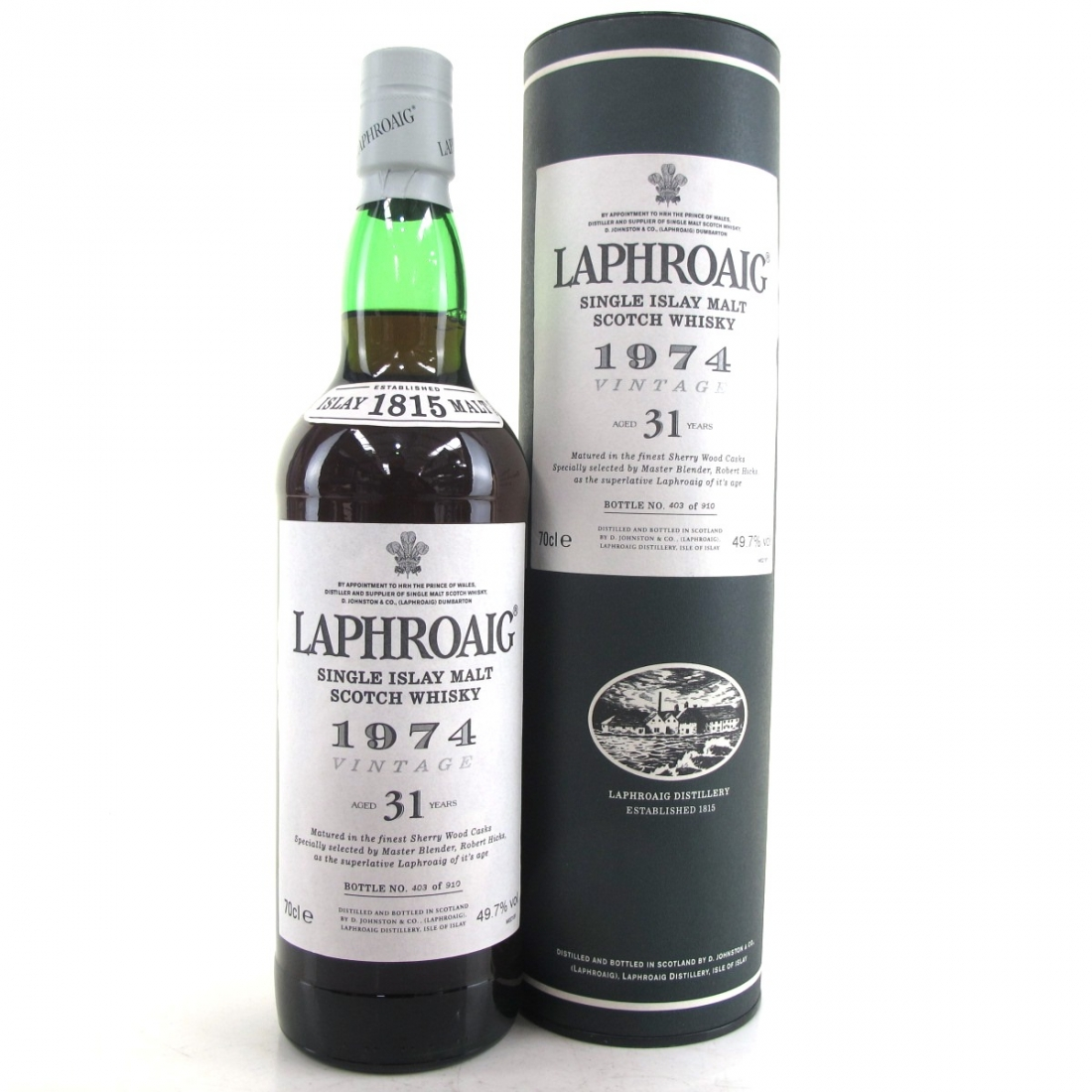 Laphroaig 1974 Sherry Cask 31 Year Old