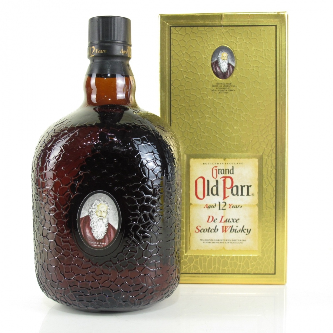 Grand Old Parr 12 Year Old 1 Litre