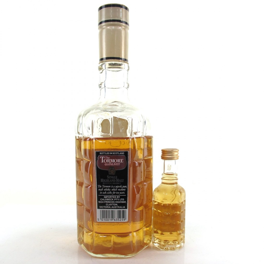 Tormore 10 Year Old 1980s / with Miniature 5cl