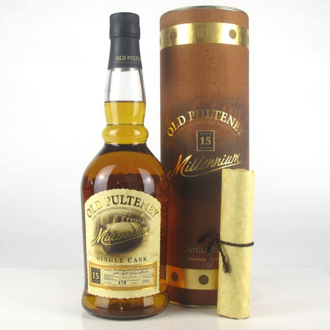 Old Pulteney 1982 15 Year Old / Millennium Single Cask
