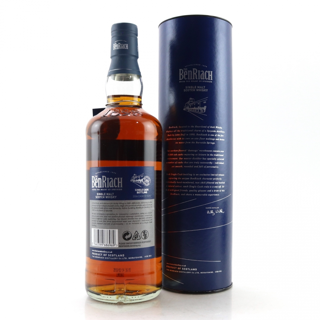 Benriach 2006 Single Cask 11 Year Old / PX Puncheon