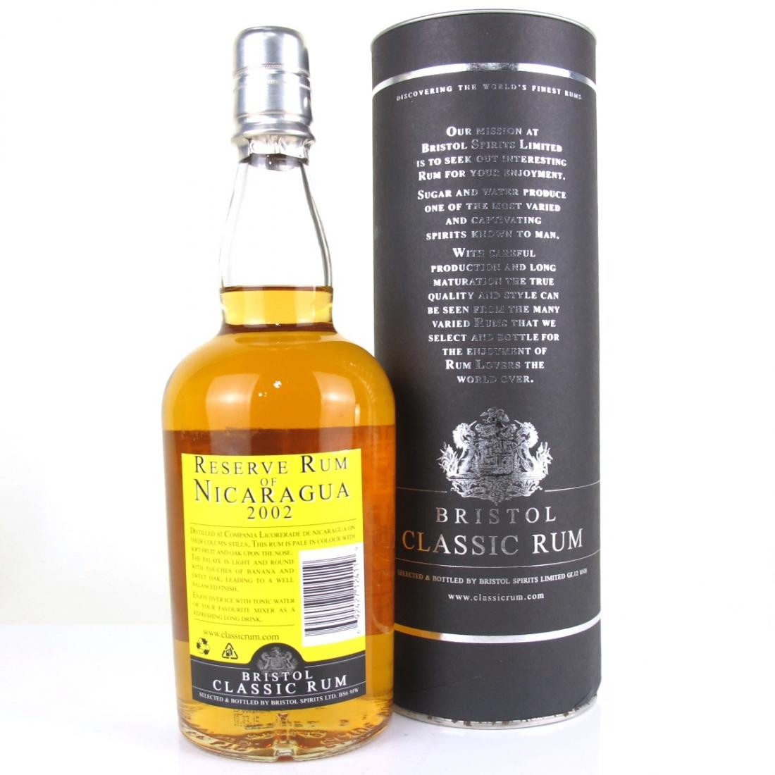 Nicaragua 2002 Bristol Classic Reserve Rum