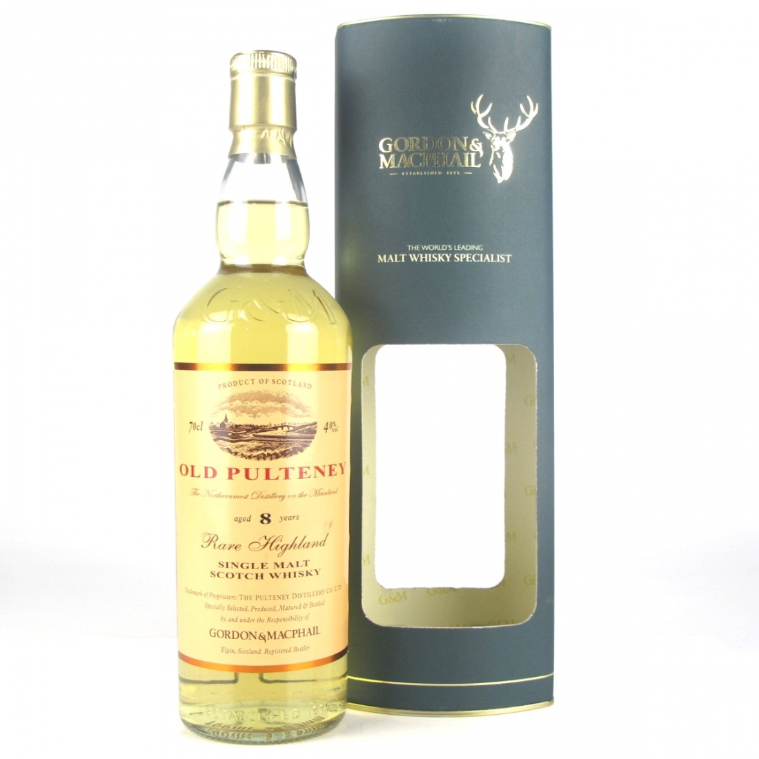 Old Pulteney 8 Year Old Gordon and MacPhail