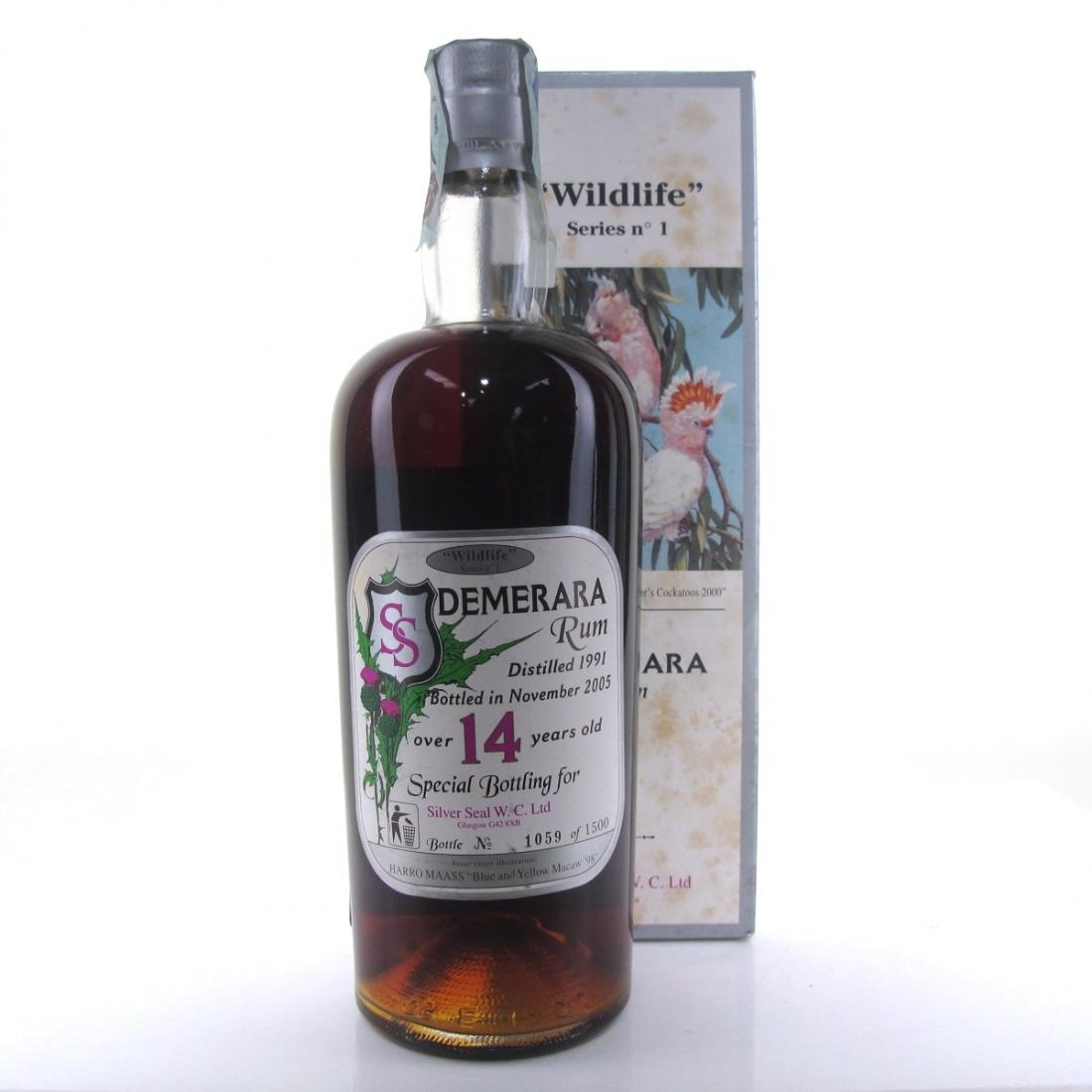 Demerara 1991 Silver Seal 14 Year Old / Guyana Rum