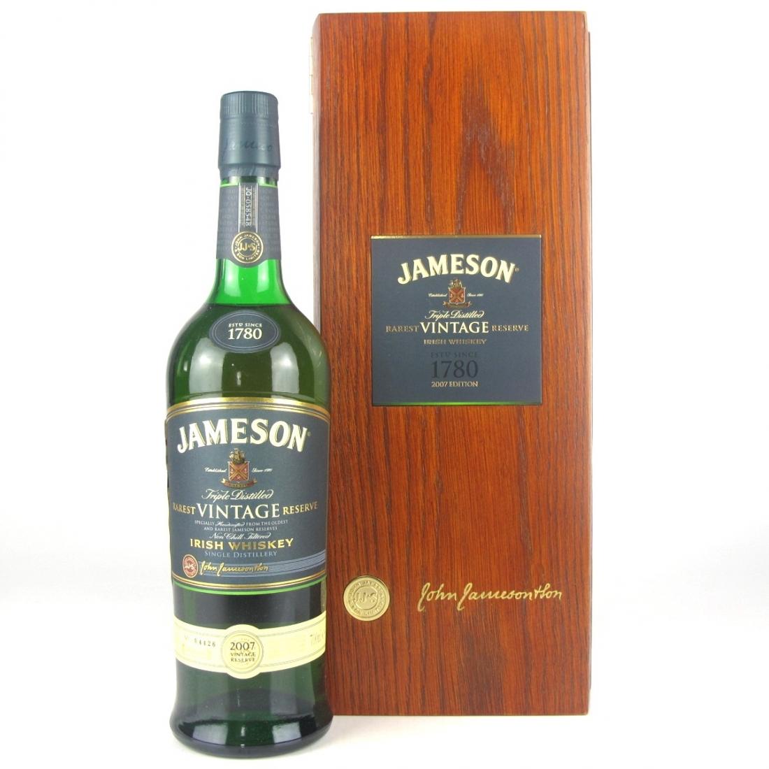 Jameson 2007 Rarest Vintage Reserve