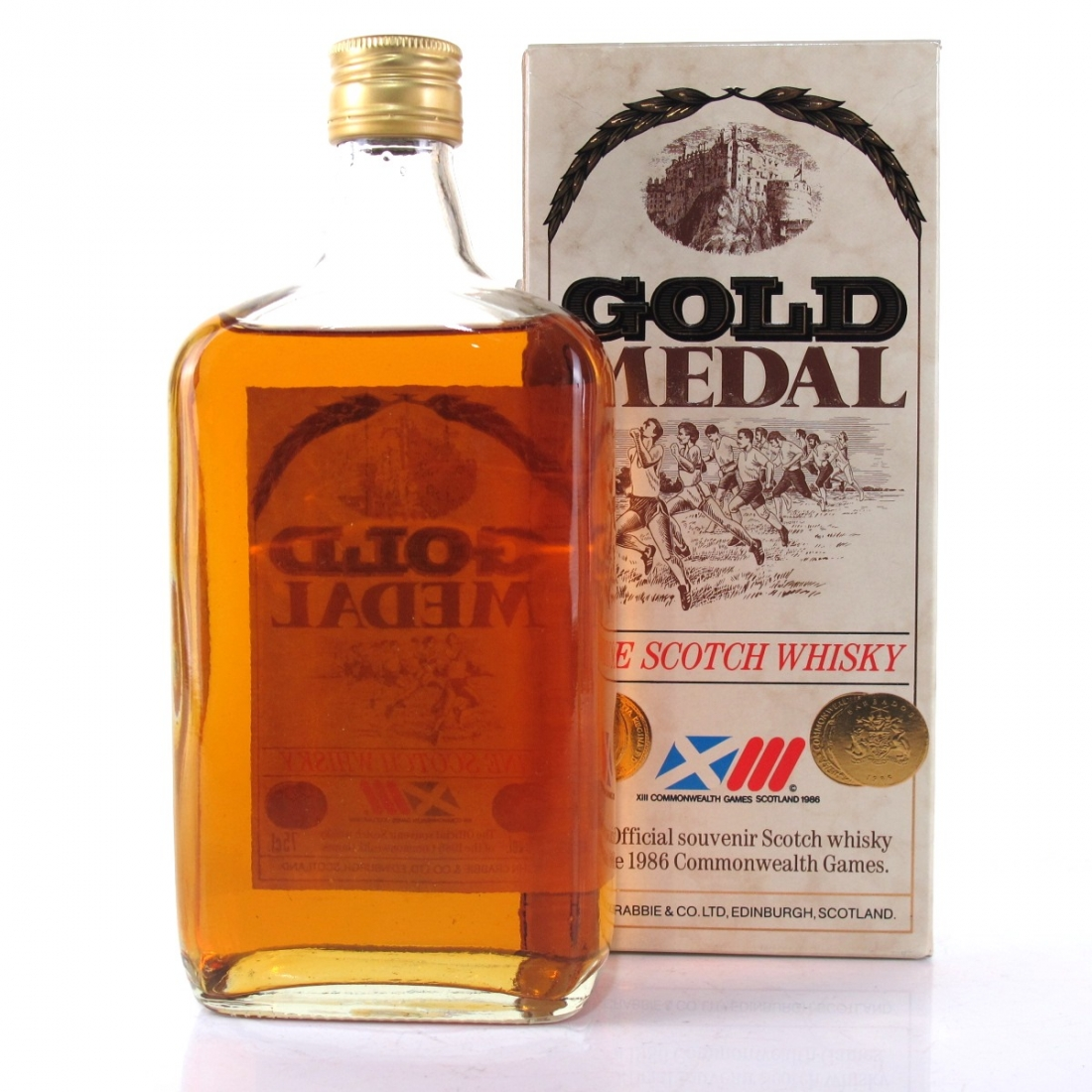 Gold Medal Fine Scotch Whisky / Commonwealth Games 1986