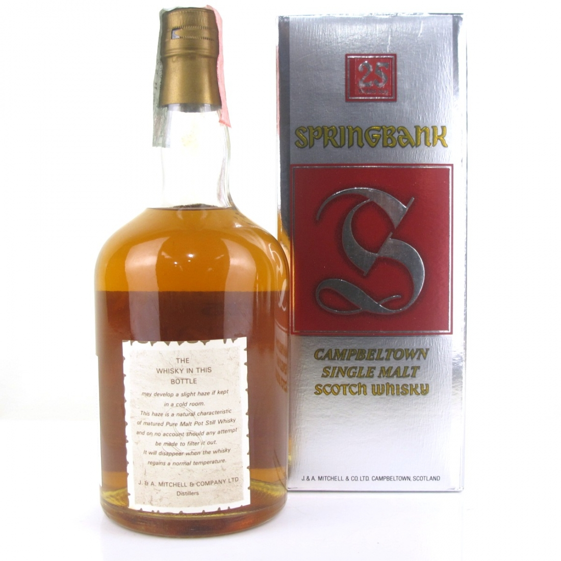 Springbank 25 Year Old 1980s