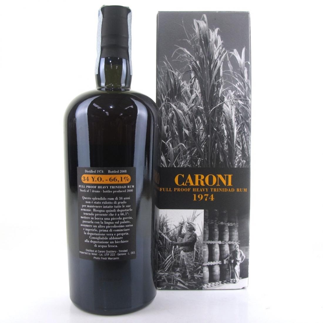 Caroni 1974 Full Proof 34 Year Old Heavy Trinidad Rum