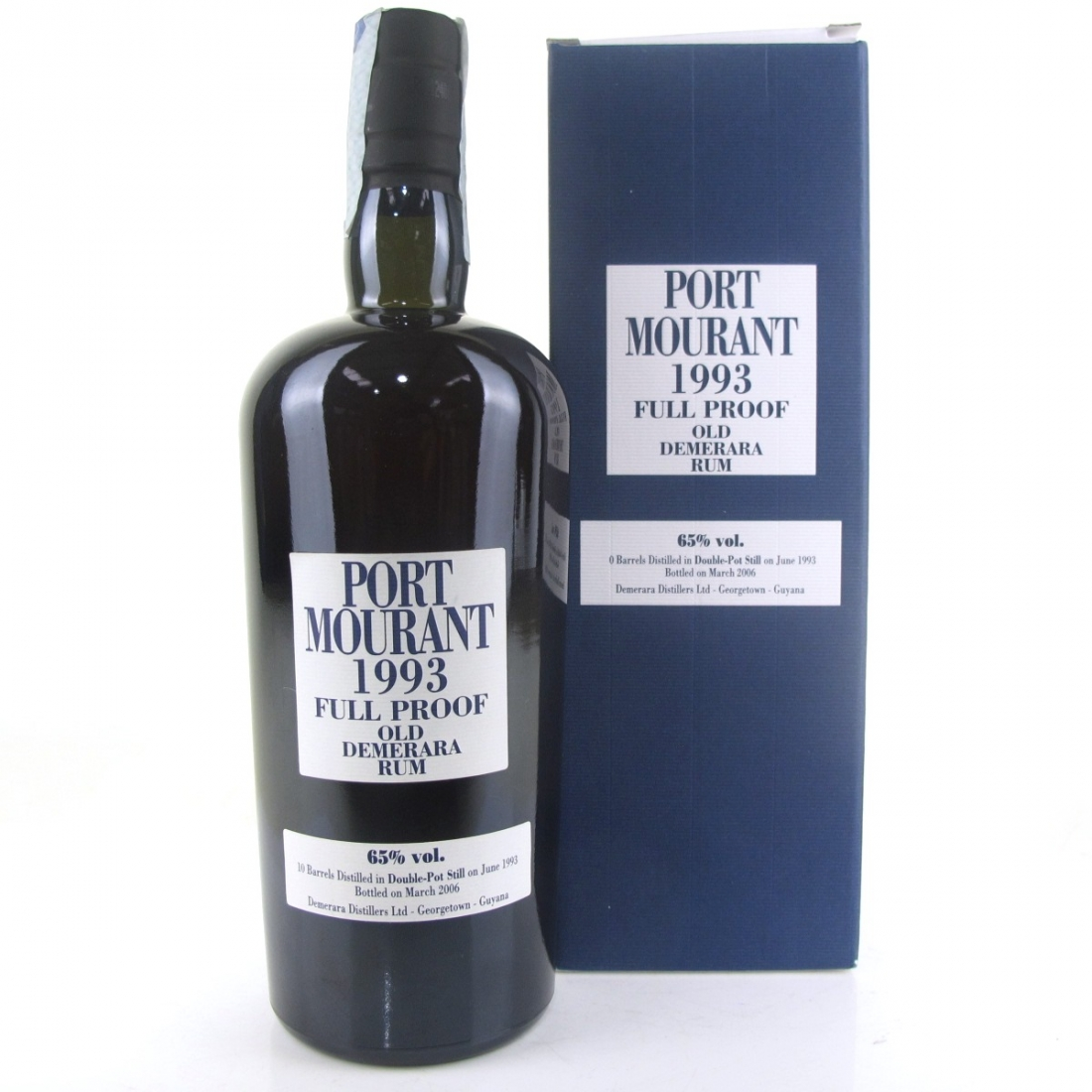 Port Mourant 1993 Full Proof Old Demerara Rum