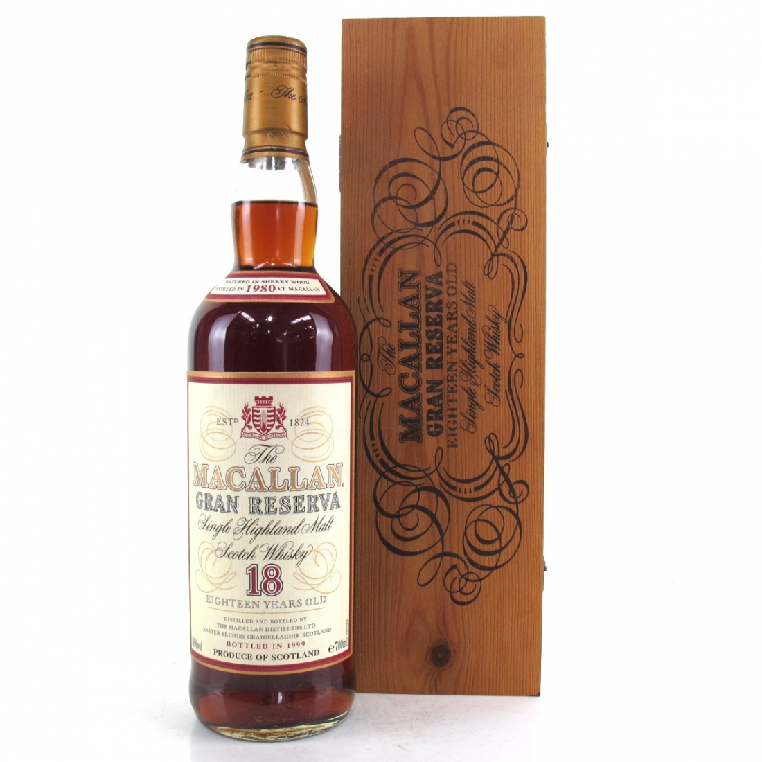 Macallan 1980 Gran Reserva 18 Year Old