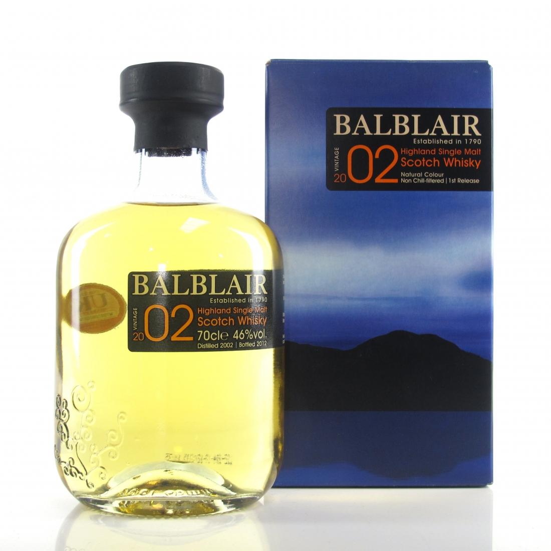 Balblair 2002 1st Release 2012