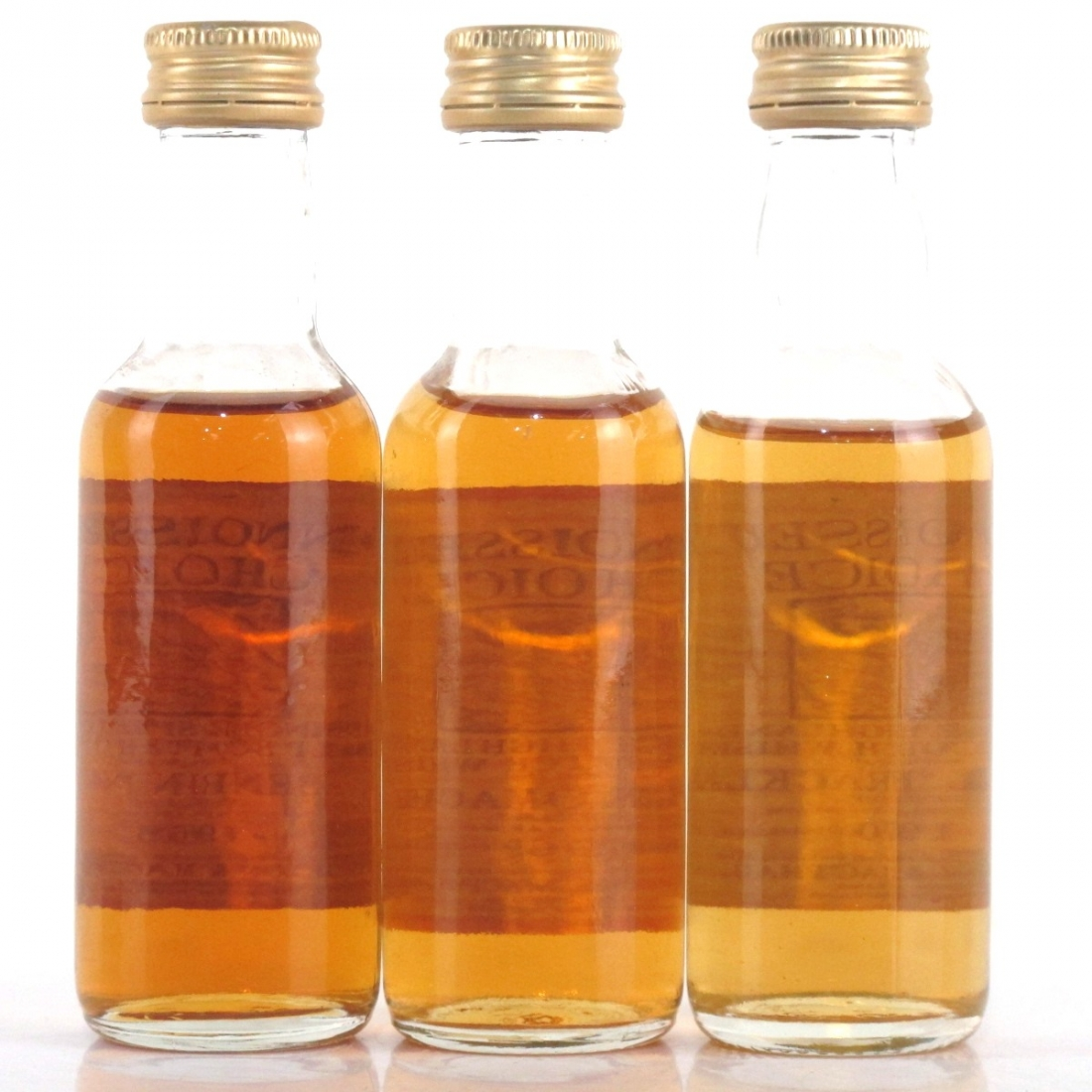 Speyside Miniature Selection 3 x 5cl / including Benrinnes 1968