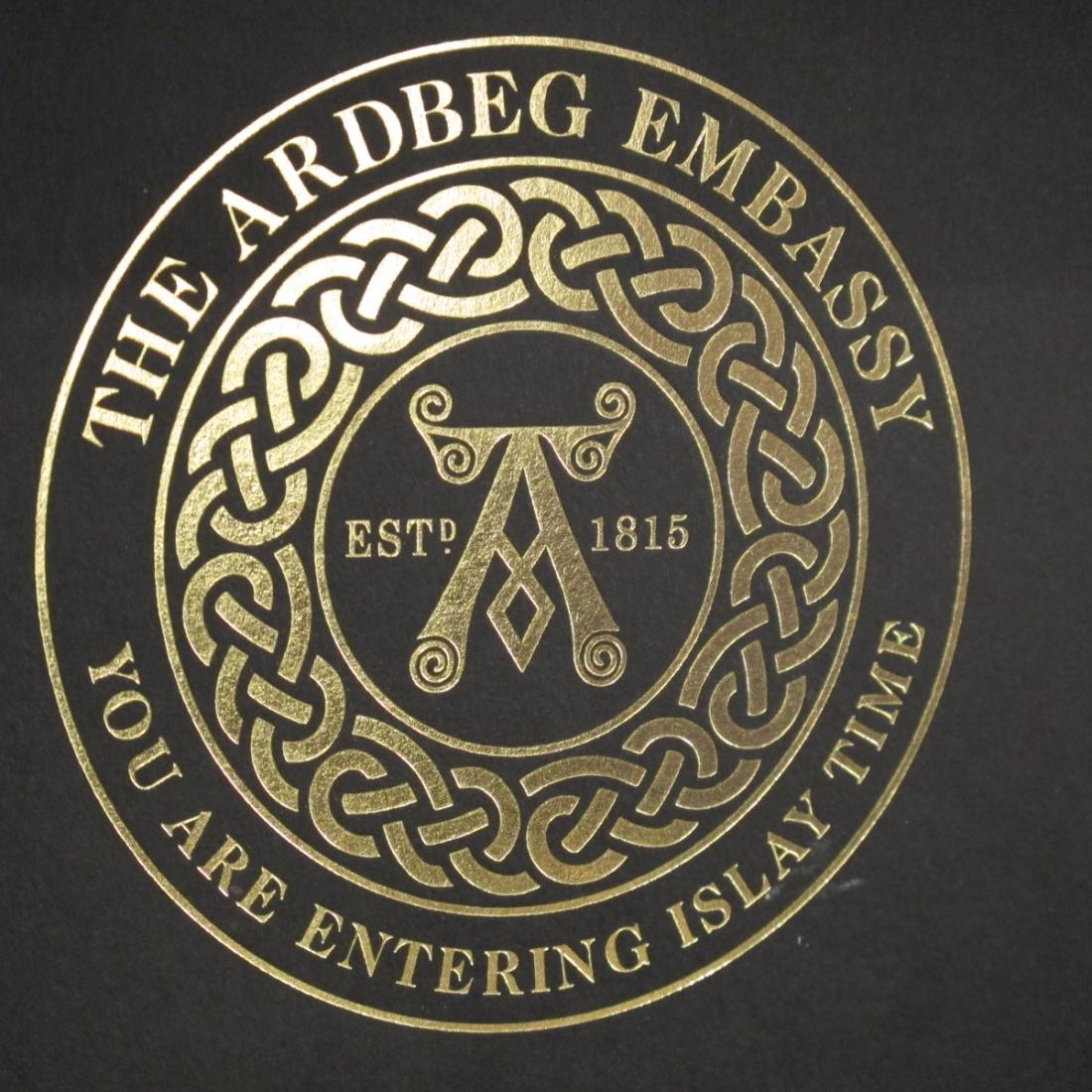 Ardbeg Official Embassy Diplomatic Box 2011 / Sample Miniatures 4 x 6cl and Handbook