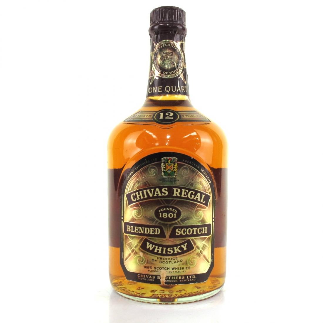 Chivas Regal 12 Year Old 1 Quart / US Import