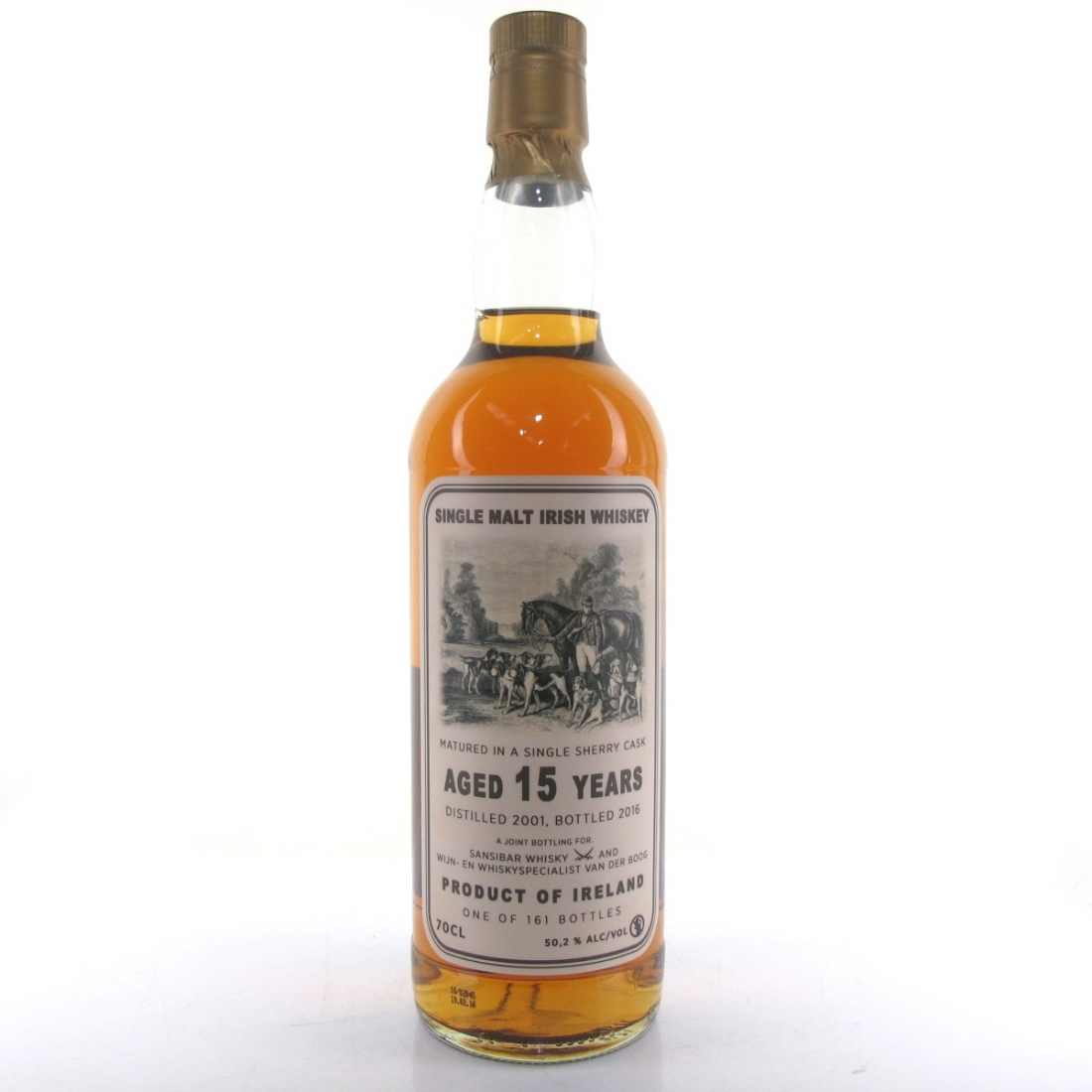 Irish Malt 2001 Sansibar 15 Year Old Sherry Cask