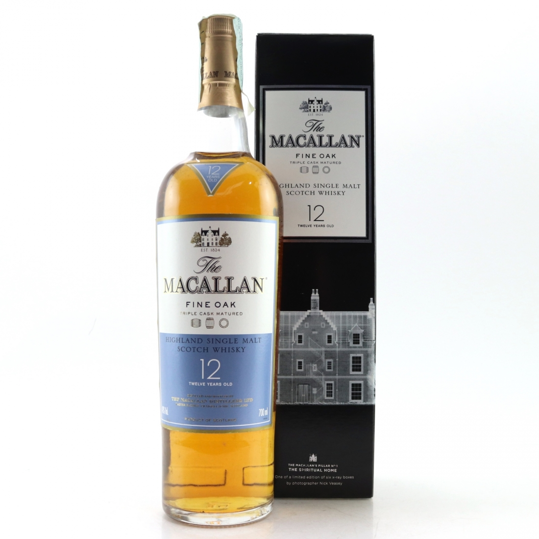 Macallan 12 Year Old Fine Oak Nick Veasey Pillars / No.1 Spiritual Home
