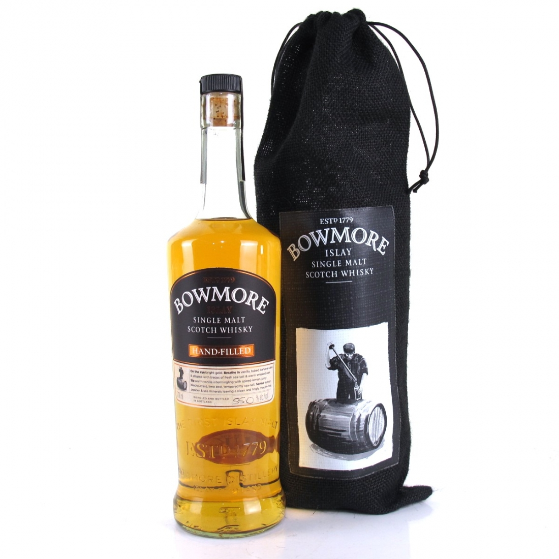 Bowmore 1997 Hand Filled 17 Year Old 4th Edition / 1st Fill Bourbon