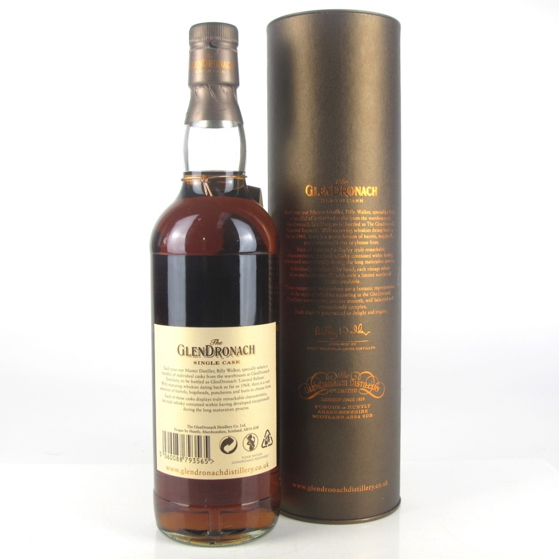 Glendronach 1995 Single Cask 16 Year Old #3251