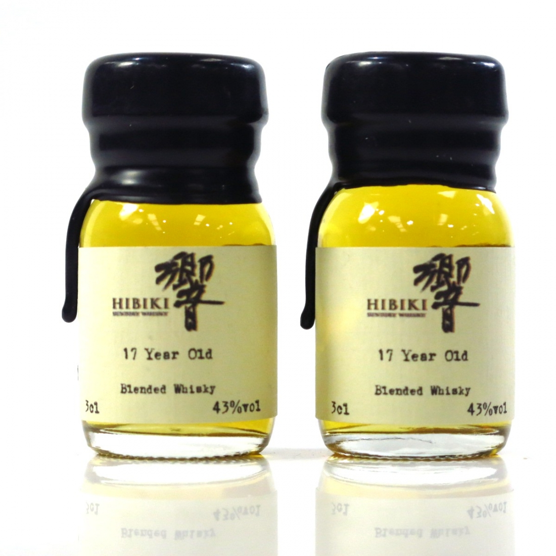 Hibiki 17 Year Old Drinks by the Dram Miniatures 2 x 3cl