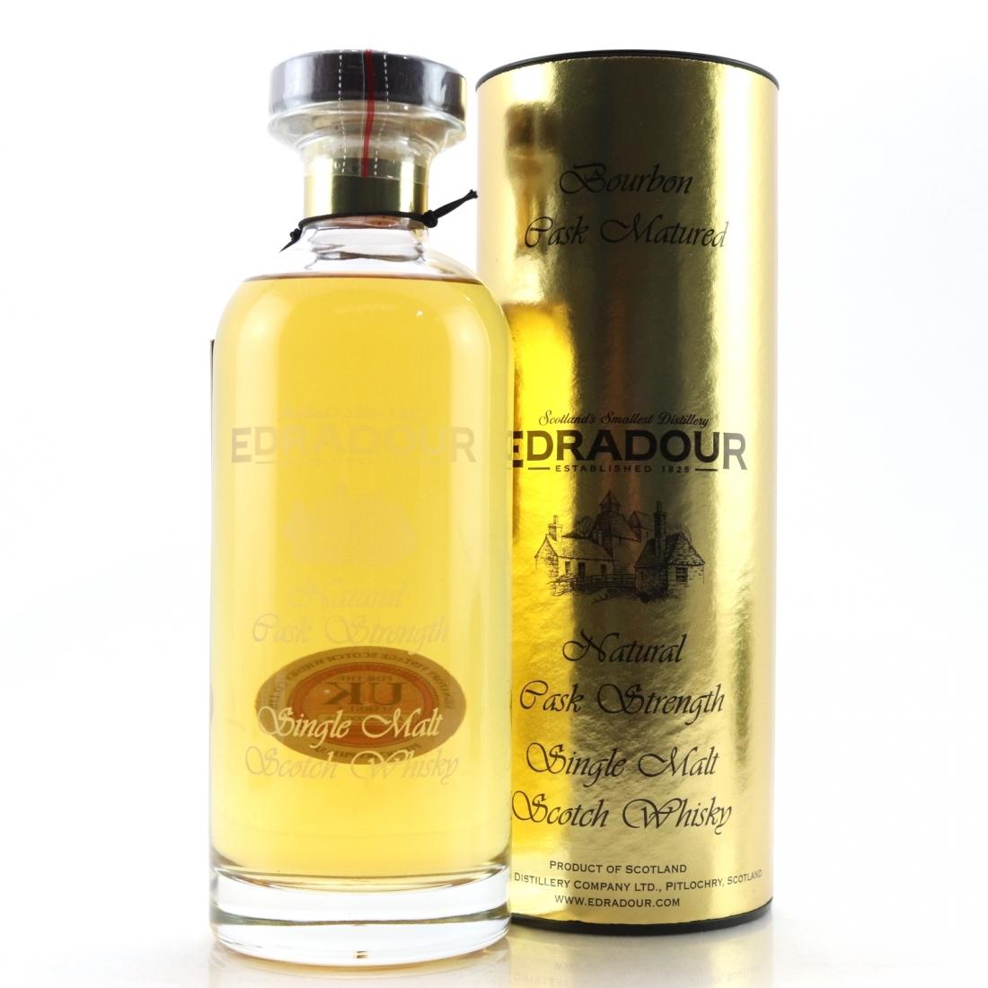Edradour 2007 Signatory Vintage Cask Strength Decanter / Bourbon