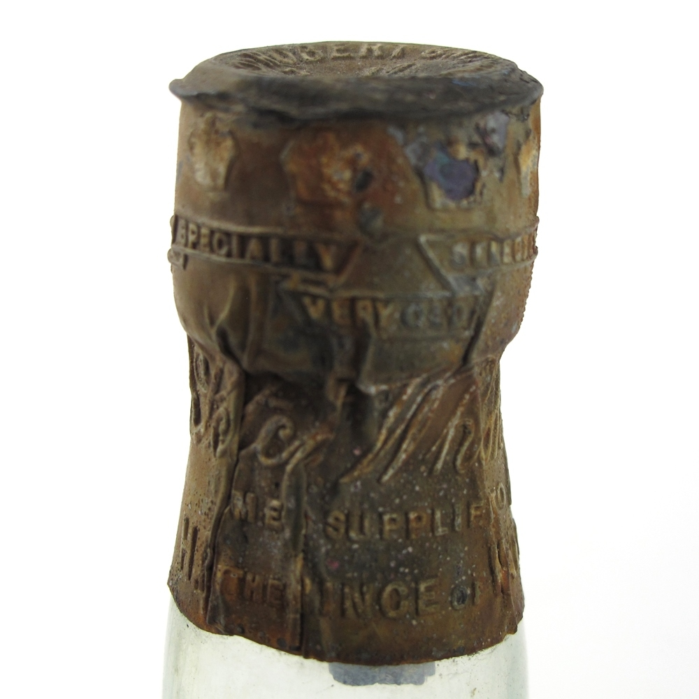 SS Wallachia 1895 Recovered Robert Brown Whiskies and Beer