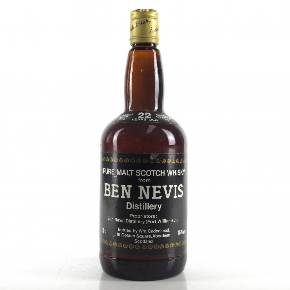 Ben Nevis 1965 Cadenhead's 22 Year Old