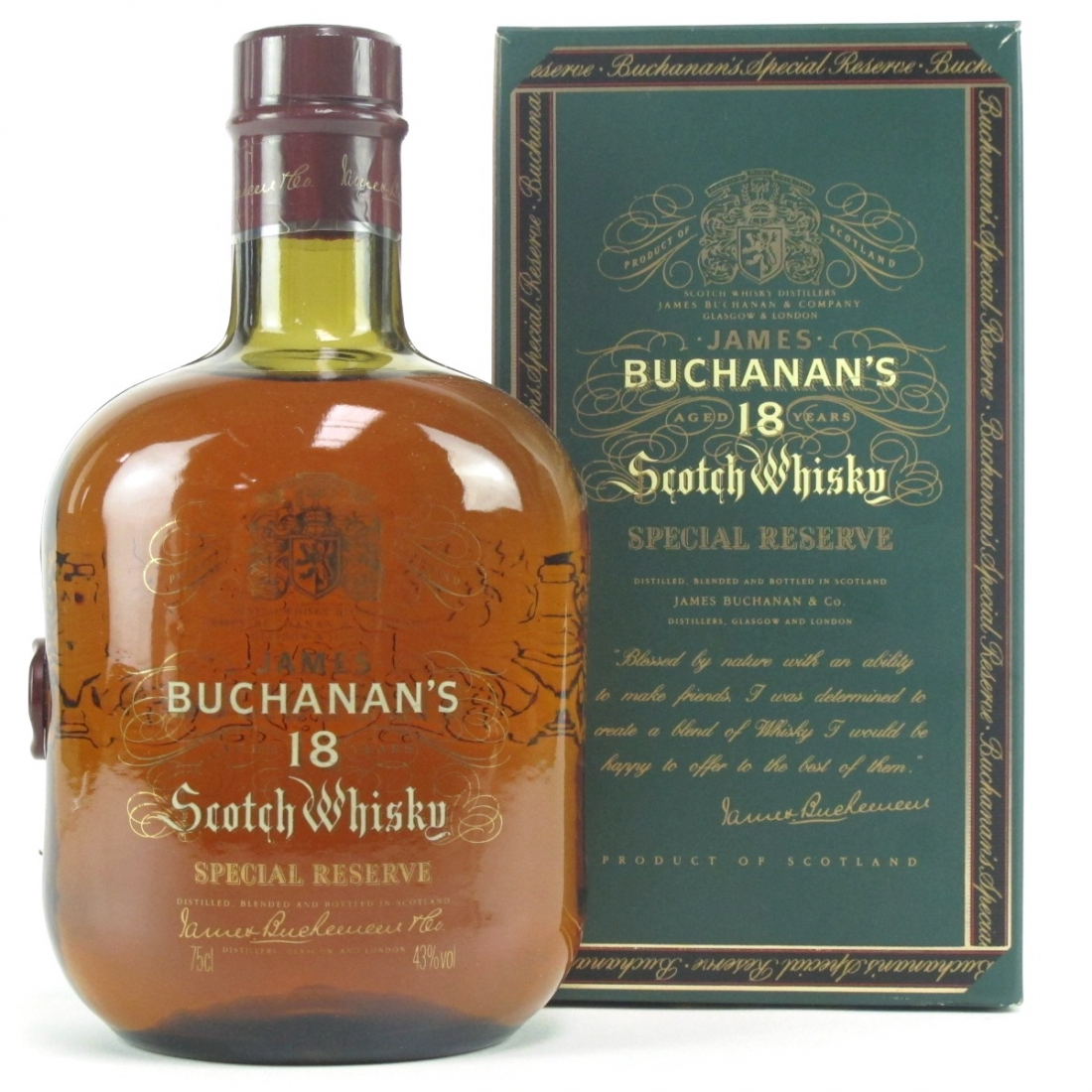 Buchanan's 18 Year Old Special Reserve 75cl