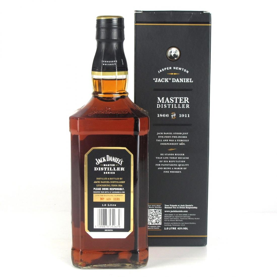 "Jack Daniel's Master Distiller Batch #1 / Jasper Newton ""Jack"" Daniel"