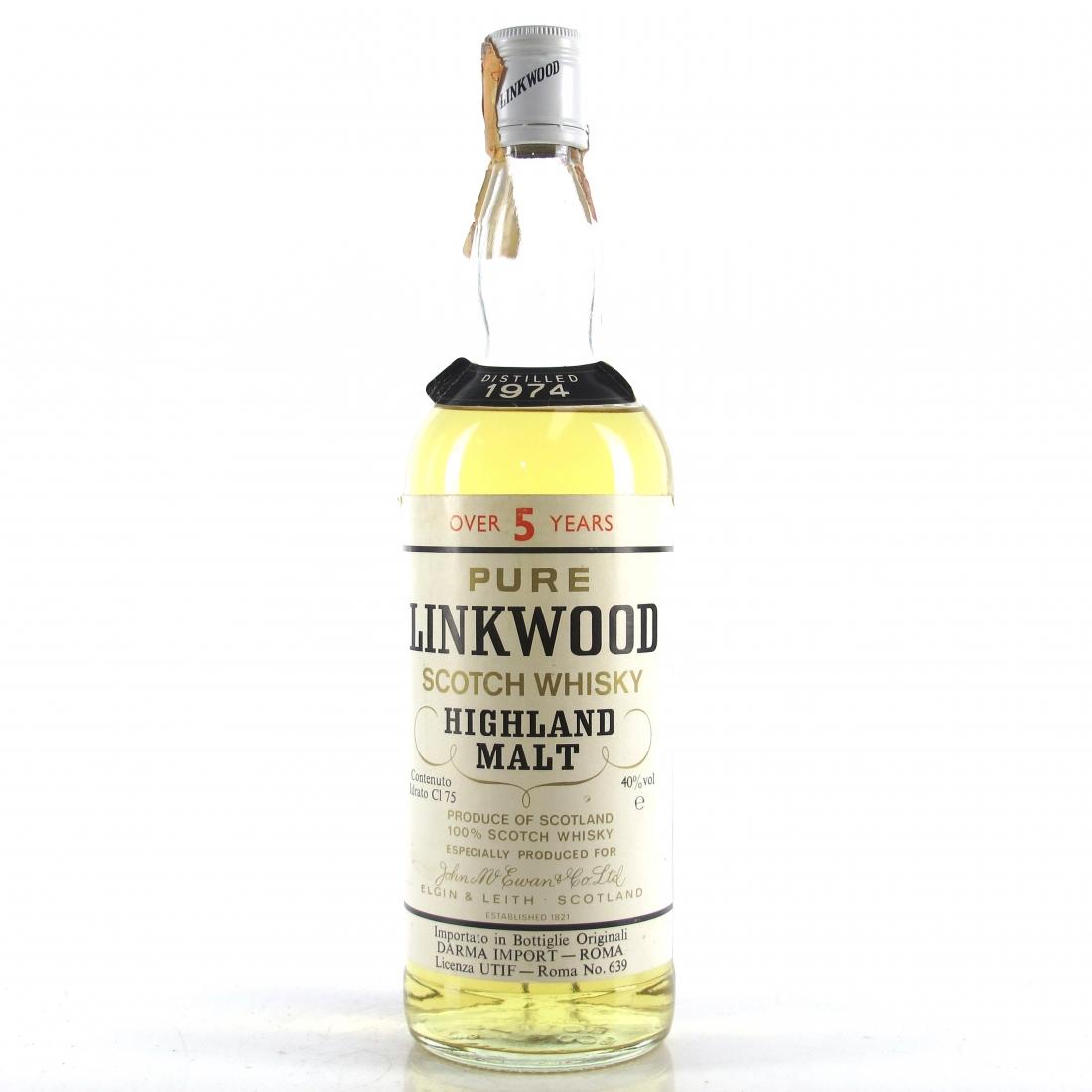 Linkwood 1974 5 Year Old
