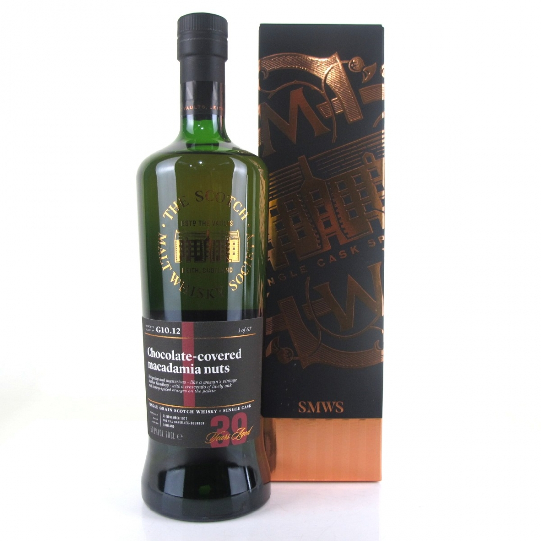 Strathclyde 1977 SMWS 39 Year Old G10.12